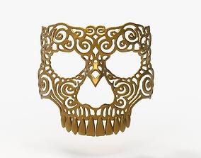 3d 3D print model Ornamet Skull Mask Sculpture