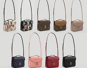 Louis Vuitton Pochette Metis Bag 3D model