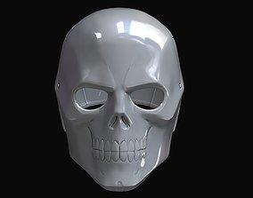 Black Mask Smooth 3D print model