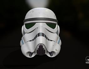 3D asset Star Wars The Black Series Imperial Stormtrooper