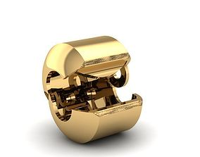 793 Lock Pandora Bracelects 3D print model