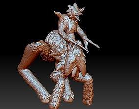 Rare Avian Centaur Jouster 3D