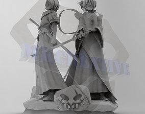 Rukia Diorama 3D printable model