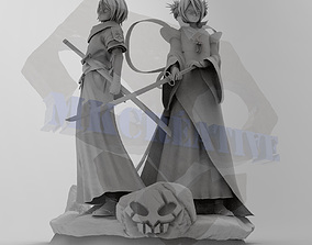 Rukia Diorama 3D printable model