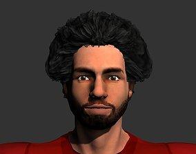 3D model Mohamed Salah
