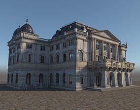 Schwerin Teater 3D model