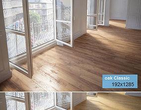 Wooden floor 3D details