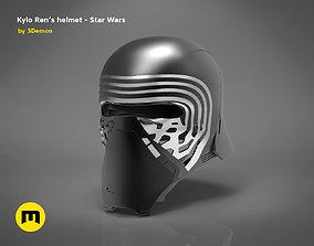 KyloRens helmet - Star Wars 3D print model