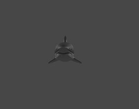 animals Shark 3D model realtime