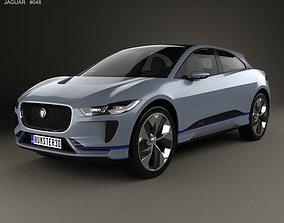 3D model Jaguar I-Pace 2016