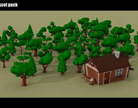 Forester 3D asset
