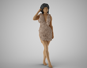Woman in the Wild 2 3D printable model