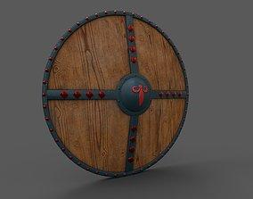 battle 3D asset game-ready Medieval Shield