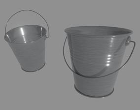 Steel Bucket 3D model