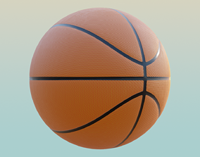 3D model PBR Free Basketball ball
