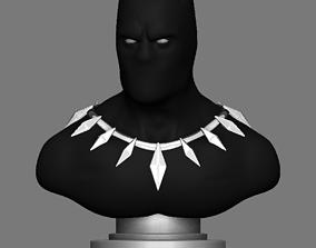 3D printable model Black Panther Bust