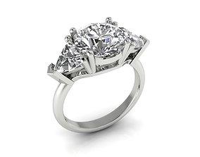 luxury Ring 86 3D print model