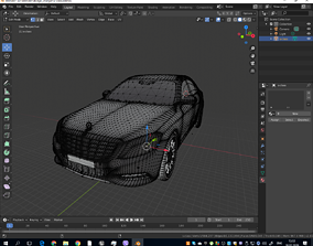 3D model Mercedes S Class AMG S63 2018