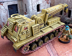3D print model Armored Recovery Vehicle - 28mm