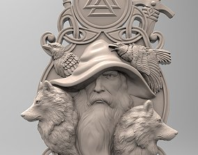 3D printable model Odin panel by Scandinavian 1