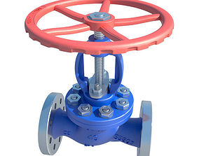 3D model plumbing Valve