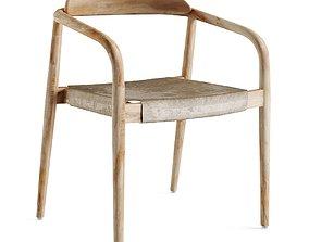 Nina Chair Scandinavian style 3D model