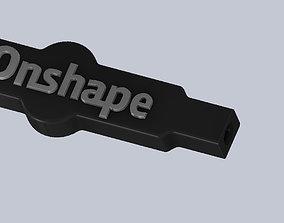 Onshape Tap Handle 3D printable model