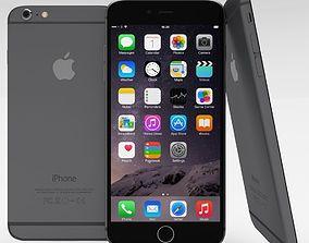 iPhone 6 Plus Space Grey 3D model