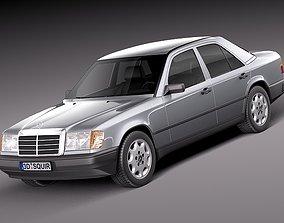 3D Mercedes W124 E-class 1984 1997