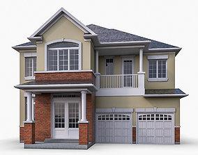 Cottage House 03 3D model