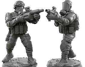3D printable model Milkor 32mm