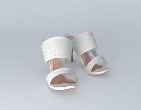 3D Alexander McQueen T Bar Sandal No. 1