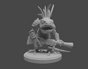 Murloc Hunter 3D printable model
