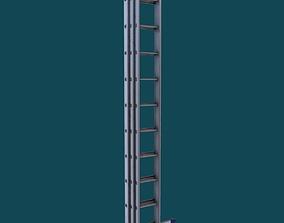 3D model Ladder 3 Game Ready