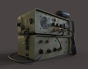 WW2 HAM Radio 3D