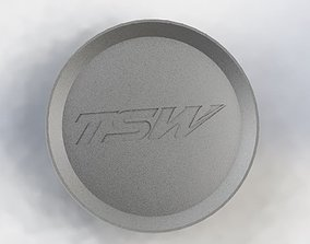 TSW Wheel Center Cap 3D print model
