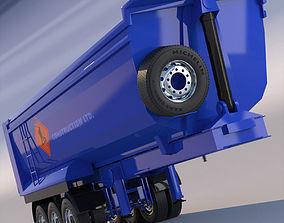 Tipper Semitrailer 3D