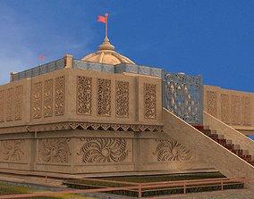 Temple Exterior 3D