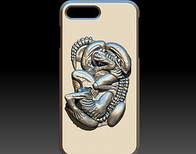 iphone 7-8 plus xenomorph alien 3D printable model