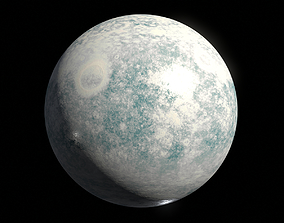 Icy Moon 03 - 8k PBR 3D model