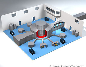 Isis neutron accelerator 3D
