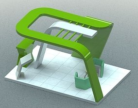 3D print model Stall for Exhibition