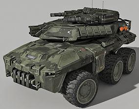 SF Heavy APC 3D model
