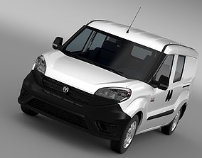 Pro Master Ram City Wagon 2017 3D model