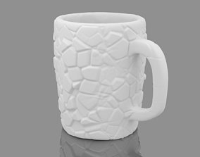 3D print model Cracked Surface Cup