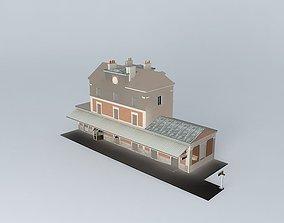 Tournus station 3D model