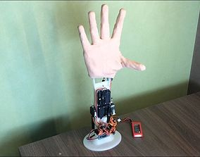robot hand - bionic hand prosthesis prototype 3D model