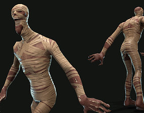 3D asset animated Mummy