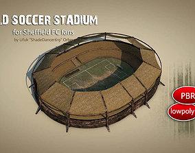 3D asset Old Soccer Stadium