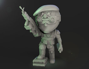 Speznat Chibi 3D printable model